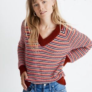 NWT Madewell Arden Chunky Knit Pullover Sweater
